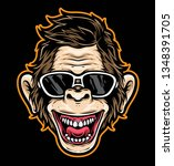 Cartoon Ape Vector