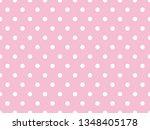 White Polka Dot Background...