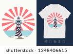 lighthouse  symbol of... | Shutterstock .eps vector #1348406615