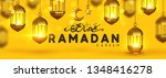 ramadan kareem. background... | Shutterstock .eps vector #1348416278