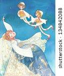 the dream of the bride | Shutterstock . vector #134842088