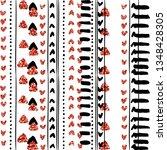 luxury geometric pattern glitch ...   Shutterstock .eps vector #1348428305
