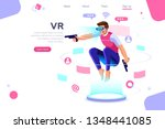 visual images  virtual...   Shutterstock .eps vector #1348441085