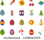 color flat icon set   equinox... | Shutterstock .eps vector #1348462445
