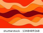 cute colorful abstract... | Shutterstock .eps vector #1348489268