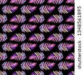 seamless symmetrical pattern of ... | Shutterstock . vector #1348561895