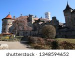 castle lichtenstein swabian jura   Shutterstock . vector #1348594652