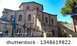 basilica of san vitale in... | Shutterstock . vector #1348619822