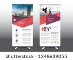 rollup template vector... | Shutterstock .eps vector #1348639055