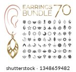 70 Vector Designs Of Earring....