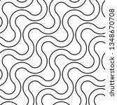 design seamless monochrome... | Shutterstock .eps vector #1348670708