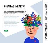 psychology. mental health...   Shutterstock .eps vector #1348677305