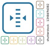 adjust level simple icons in... | Shutterstock .eps vector #1348696082