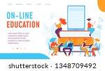 vector concept creative... | Shutterstock .eps vector #1348709492