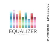equalizer logo template | Shutterstock .eps vector #1348721732