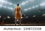 basketball player in sports... | Shutterstock . vector #1348725338