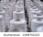 row of textile threads industry ... | Shutterstock . vector #1348742222