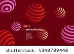 minimal geometric background....   Shutterstock .eps vector #1348789448