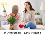 happy mother's day  child... | Shutterstock . vector #1348798055