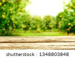 desk of free space for your... | Shutterstock . vector #1348803848