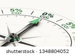 3d illustration of conceptual... | Shutterstock . vector #1348804052
