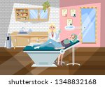 cosmetology procedures in... | Shutterstock .eps vector #1348832168