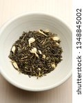 picture of natural tea leaves   Shutterstock . vector #1348845002