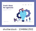 fresh ideas landing page ui ux...