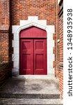 Red Church Door   Exit
