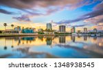 st. petersburg  florida  usa... | Shutterstock . vector #1348938545
