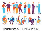 vector concept creative... | Shutterstock .eps vector #1348945742