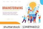vector concept creative... | Shutterstock .eps vector #1348946012