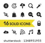 ui icons set with zoom  zoom in ...