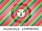 weightlifting icon inside... | Shutterstock .eps vector #1348980302