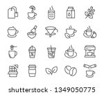 set of coffee break icons  such ...   Shutterstock .eps vector #1349050775