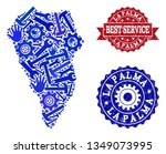 best service composition of... | Shutterstock .eps vector #1349073995