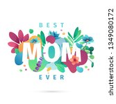 modern template design for mom... | Shutterstock .eps vector #1349080172