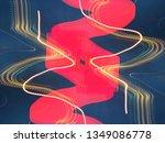 light effects. neon glow.... | Shutterstock . vector #1349086778