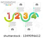 infographic design template... | Shutterstock .eps vector #1349096612