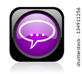 forum black and violet square... | Shutterstock . vector #134911256