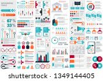 infographic elements data... | Shutterstock .eps vector #1349144405