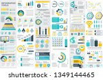 infographic elements data... | Shutterstock .eps vector #1349144465