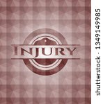 injury red seamless geometric... | Shutterstock .eps vector #1349149985
