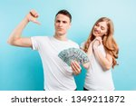 photo of a happy young couple... | Shutterstock . vector #1349211872