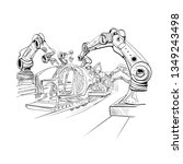 Robotic Arms Collect Cars In...