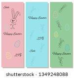 gentle set of discount coupons... | Shutterstock .eps vector #1349248088