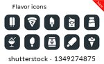 flavor icon set. 10 filled... | Shutterstock .eps vector #1349274875
