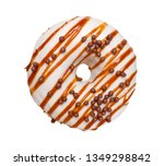 colorful donut isolated on... | Shutterstock . vector #1349298842