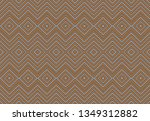 texture geometric pattern brown ... | Shutterstock . vector #1349312882