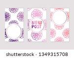 set of social media stories... | Shutterstock .eps vector #1349315708